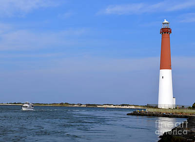 Photograph - Barnegat Lighthouse by Sami Martin