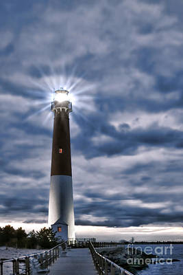 Art Print featuring the photograph Barnegat Magic by Olivier Le Queinec