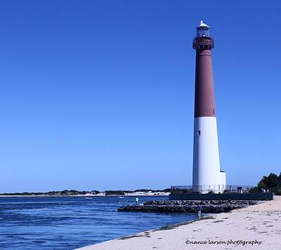Photograph - Barneget Lighthouse by Nance Larson