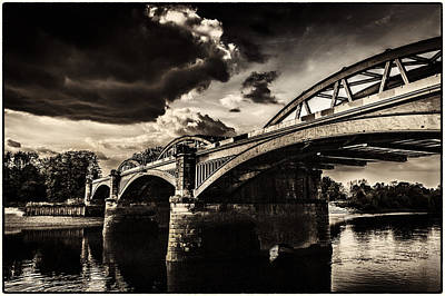Photograph - Barnes Rail Bridge by Lenny Carter