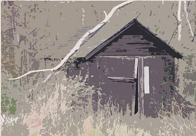 Barns #4 Art Print by Glenn Cuddihy