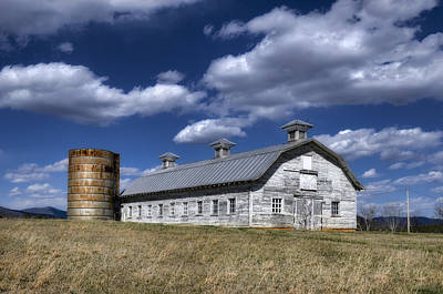 Photograph - Barns Are Beautiful II by Steve Hurt