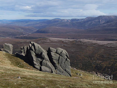 Art Print featuring the photograph Barns Of Bynack - Cairngorm Mountains by Phil Banks