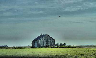 Broken Down Photograph - The Flight Home by Dan Sproul