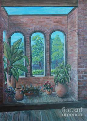 Barnsley Gardens Original by Catherine Sprague