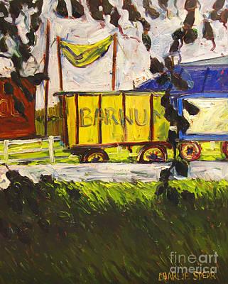 Barnum And Bailey Art Print by Charlie Spear