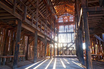 Photograph - Barnwood Cathedral by Mary Lee Dereske