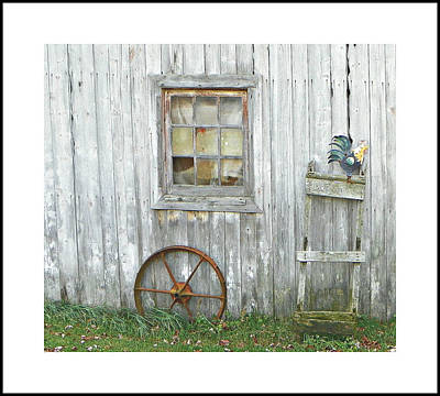 Photograph - Barnwood Decor by Dianne  Lacourciere