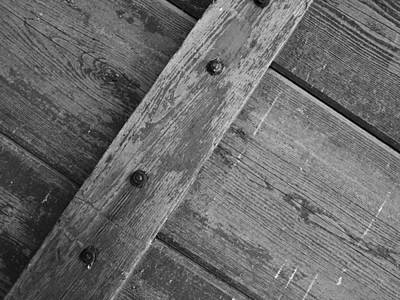 Realism Photograph - Barnwood... by Tom Druin