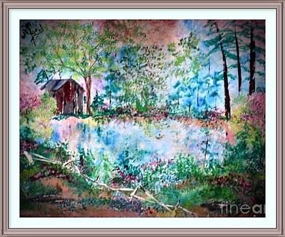 Painting - Barnyard Beautiful by Denise Tomasura