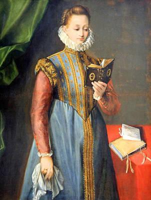 Photograph - Barocci's Quintilia Fischieri by Cora Wandel