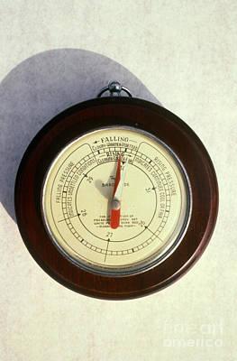 Barometer Photograph - Barometer by Van D. Bucher