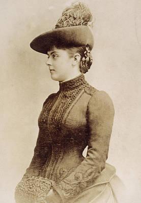 Baroness Marie Vetsera (c1871-1889) Art Print