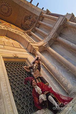 Baroque Gentlemen 13 Art Print by Danilo Piccioni