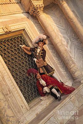 Baroque Gentlemen 15 Art Print by Danilo Piccioni