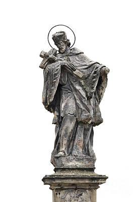 Jesus Christ Relief Photograph - Baroque Statue by Michal Boubin