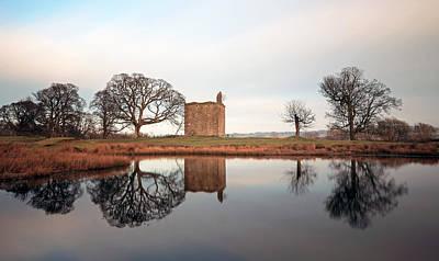 Photograph - Barr Castle Reflection by Grant Glendinning