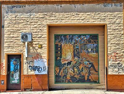 Door Photograph - Barracas Buenos Aires by Steven Richman