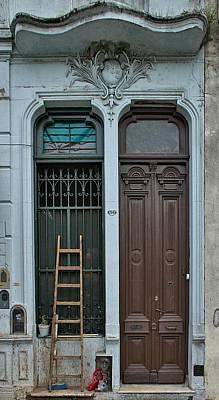 Door Photograph - Barracas Doors Buenos Aires by Steven Richman