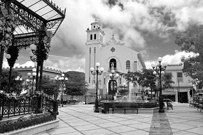 Photograph - Barranquitas 5666bw by Ricardo J Ruiz de Porras