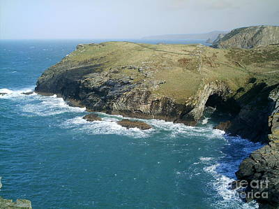 Photograph - Barras Nose Tintagel by Richard Brookes