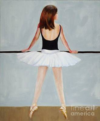 Painting - Barre by Cynthia Parsons