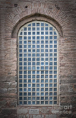 Exclusion Photograph - Barred Mosque Window by Antony McAulay