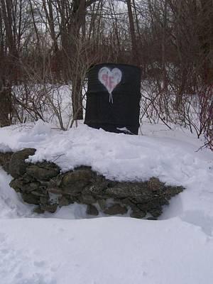 Barrel Of Heart Art Print