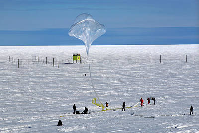 Planetary Science Photograph - Barrel Research Balloon Release by Nasa/gsfc/barrel