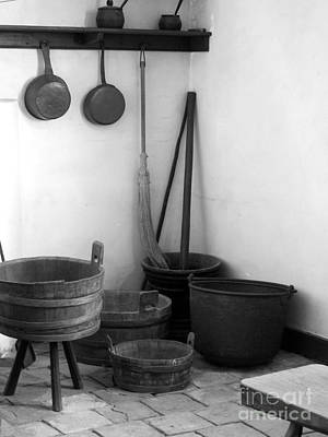 Photograph - Barrels And Pots by Valerie Reeves