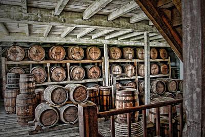 Barrels Art Print