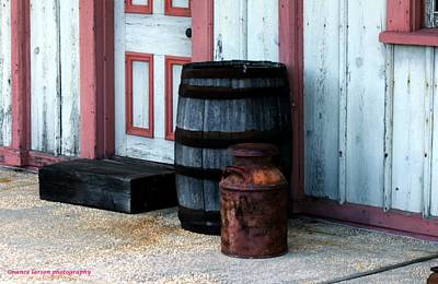 Photograph - Barrels by Nance Larson