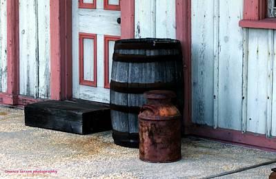 Photograph - Barrels by Nance Larson