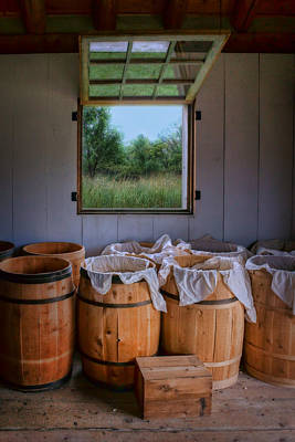 Photograph - Barrels Of Beans by Nikolyn McDonald
