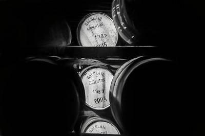 Photograph - Barrels Of Whisky Part 1, 2017 by Erik Brede