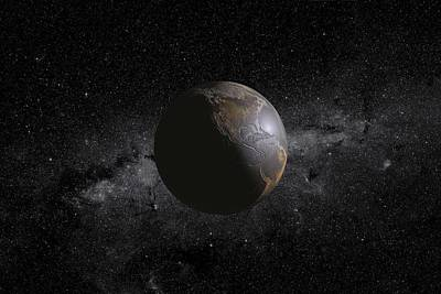 Barren Earth Art Print
