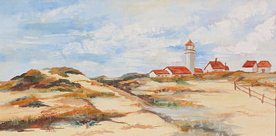 Cape Cod Painting - Cape Cod by Helen  Thorne