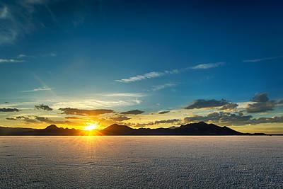 Dry Lake Photograph - Barren Valley by Brett Engle