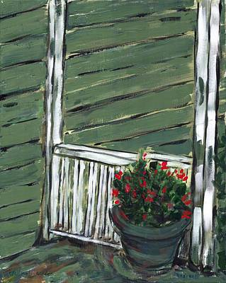 Painting - Wellington Garden by David Dossett