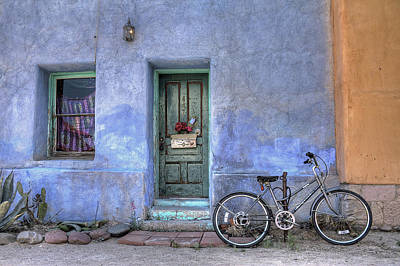 Barrio Bicycle Art Print