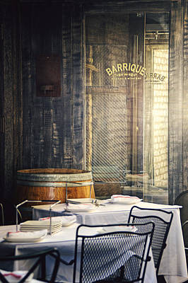 Barrique Means Barrel Art Print