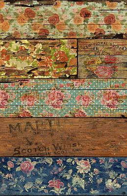 Decoupage Mixed Media - Barroco Style by Maximilian San