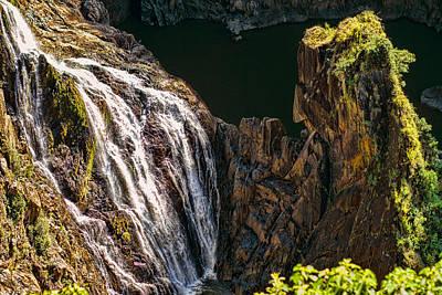 Canon 7d Photograph - Barron Falls Queensland Australia by Mr Bennett Kent
