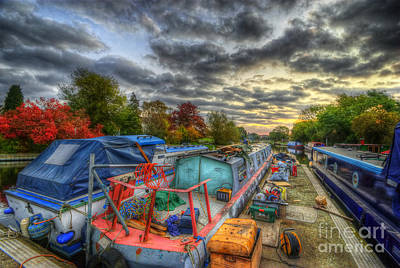 Photograph - Barrow Boats by Yhun Suarez