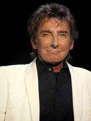 Music Photograph - Barry Manilow by Devina Browning