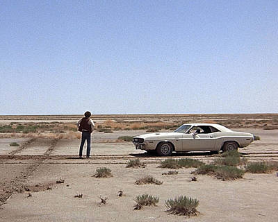 Barry Photograph - Barry Newman In Vanishing Point  by Silver Screen