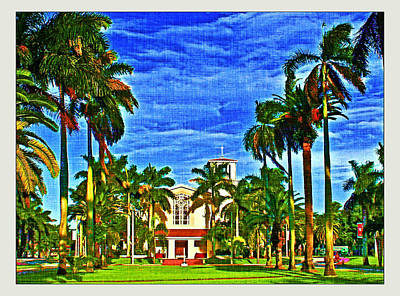 Photograph - Barry University by Dart and Suze Humeston