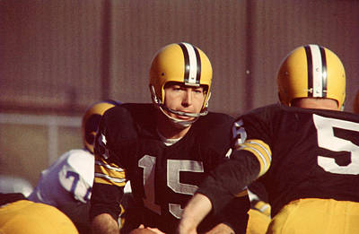 Bart Starr Art Print by Retro Images Archive