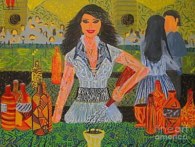 Bartender Original by Raquel Nikfarjam
