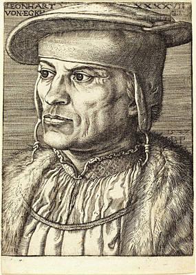 Barthel Beham German, 1502 - 1540, Leonhard Von Eck Art Print